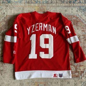 Steve Yzerman Detroit Red Wings Starter Jersey
